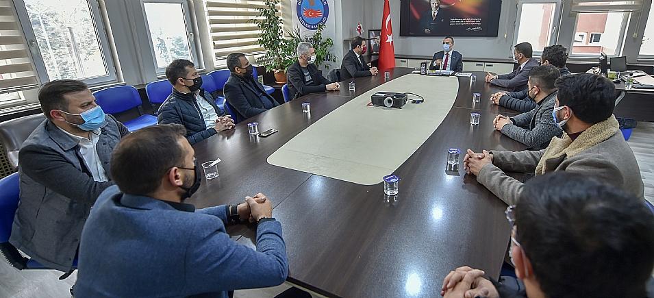 KAYMAKAM ARSLAN'I ZİYARET ETTİK