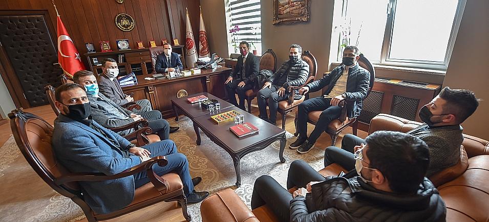 BAŞSAVCI TUNAY'I ZİYARET ETTİK